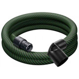 Festool FES-201665  Tapered Braided Sleeve Antistatic Hose, 27mm X 3m For CT SYS