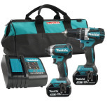 Makita MAK-DLX2180S 18V LXT BRUSHLESS 2 Tool Combo 3Ah Kit