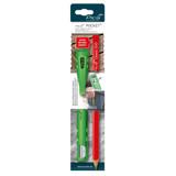 Pica-Marker PICA-50502  POCKET Quiver / Sharpener with One Stonemason Pencil