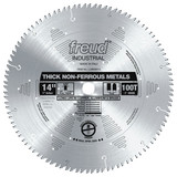 """Freud FRE-LU89M014  14"""" 100 Tooth Thick Non-ferrous Metal Blade"""