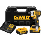 "DeWALT DEW-DCF887M2  20V MAX XR Brushless 1/4"" 3-Speed Impact Driver 4Ah Kit"
