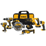 DeWALT DCK694P2  20V MAX XR 6PC 5Ah Combo Kit