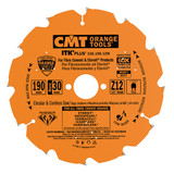 CMT Orange Tools CMT-23621012M TS 75 Blade 4 Tooth 30mm Bore - Fibre Cement