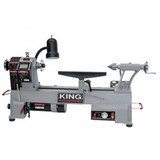 "King Industrial KWL-1218VS  12"" X 18"" Variable Speed Wood Lathe"
