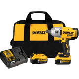"DeWALT DEW-DCF897P2  20v MAX XR High Torque 3/4"" Impact Wrench 5.0ah Kit"