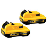 Dewalt DCB127-2  2 Pack 12V LI-ION BATTERY 2.0AH
