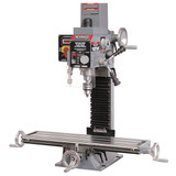 """King Industrial KING-KC-20VS-2  1 HP Milling and Drilling Machine 13"""", 1 HP, 120V with Digital Read Out"""