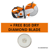 Stihl STL-TS800 TS 800 Cutquik Cut-Off Saw + FREE B10 Dry Diamond Blade
