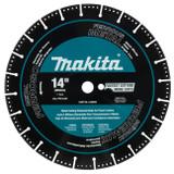 "Makita A-96229 14"" Diamond Blade, Segmented, Metal Cutting"