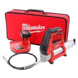 Milwaukee 2446-21XC M12 Cordless LITHIUM-ION Grease Gun Kit