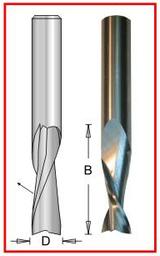 "Dimar DIM-SC463  Solid Carbide Spiral 1/4"" X 1/4"" X 3/4"" X 2.5"""