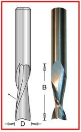 "Dimar DIM-SC812B  Solid Carbide 1/2"" X 1/2"" X 1-5/8"" Upcut Bit"