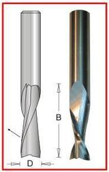 "Dimar DIM-SCW812  2 Flute 1/2"" X 1/2"" X 1-1/4"" Up Spiral Carbide"
