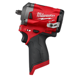 "Milwaukee MIL-2554-20 M12 FUEL 3/8"" Stubby Impact Wrench"