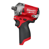 "Milwaukee 2555-20 M12 FUEL 1/2"" Stubby Impact Wrench"