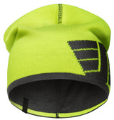 Snickers SNI-90156658000 Reversible Beanie (High Visibility Yellow - Steel Grey)