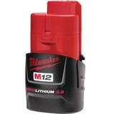 Milwaukee 48-11-2430 M12 REDLITHIUM 3.0 Compact Battery Pack