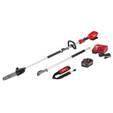 "Milwaukee MIL-2825-21PS M18 FUEL 10"" Pole Saw Kit With QUIK-LOK Attachment Capability"
