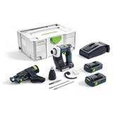 Festool FES-575757 DWC 18 Cordless Drywall Screwdriver Bluetooth 3.1Ah PLUS