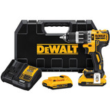 DeWALT DCD796D2 20V MAX XR Lithium Ion Brushless Compact Hammerdrill Kit
