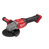 "Milwaukee 2981-20 M18 FUEL 4-1/2"" - 6"" Braking  Grinder, Slide Switch, Lock-On (TOOL ONLY)"