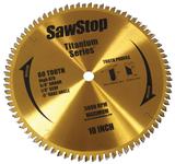 Sawstop SAW-BTSP80HATB Titanium Series 80-Tooth Blade