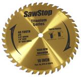 Sawstop SAW-BTSR40ATB Titanium Series 40-Tooth Combination Blade