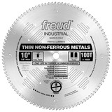 "Freud FRE-LU90M010 10"" x 100T Thin Stock Non-Ferrous Metal Blade"