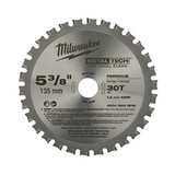 Milwaukee 48-40-4070 5-3/8-Inch Ferrous Metal Blade, 30T