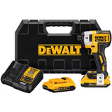 DeWALT DCF887D2 20V Max Brushless 1/4 Impact With 2X 2.0Ah Batteries