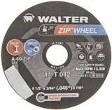 WALTER SURFACE TECHNOLOGIES WAL-11T142 4.5In Zipcut Disc Type 27