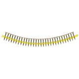"Simpson Strong-Tie WSC114S-17 #8 by 1-1/4"" Wood Screw 17 Point Yellow Zinc Coating-2500 per Box"