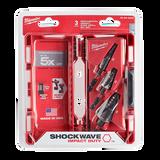 Milwaukee 48-89-9256 3Pc Shockwave Step Bit Kit