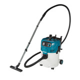 Makita VC3012L 30L Professional Push&Clean Wet/Dry Dust Extractor
