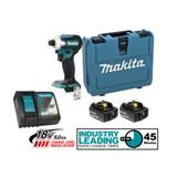 """Makita DTD171RTE 18V LXT 1/4"""" Impact Driver 2x 5.0Ah Kit"""