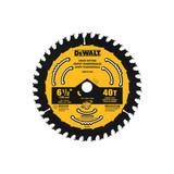 """DeWALT DWA161240 6-1/2"""" x 40T Circular Saw Blade"""