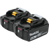 Makita 196681-7 18V 5Ah Li-Ion Battery (2-Pack) BL1850B