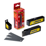 OLFA OLFA-LBB-CP100 18mm Black Ultra-Sharp Snap-Off Blade (100-Pack)