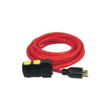 King Canada K-L1430R-25 Powerforce 25' Generator Extension Cord with Reset