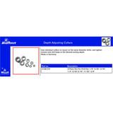 Dimar 2108.518 8-Piece Set Depth Adjusting Collars