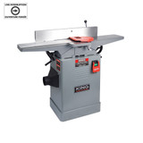 "King Canada KC-65FX 6"" Jointer with Spiral Cutterhead"