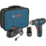 "Bosch PS31-2A 12V Max 3/8"" Drill/Driver Kit"