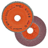"""Walter Surface Technologies WAL-15R454 4.5"""" Enduro-Flex Spin-On Flap Disc 40 Grit"""