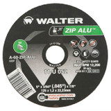 "Walter Surface Technologies WAL-11U052 5"" ZIP Alu Cut-Off Wheel"