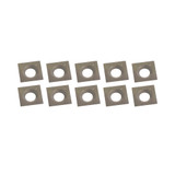 King Canada KW-093 10PC Carbide Cutter Inserts Kit (14.17mm x 14.17 x 2mm)