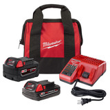 Milwaukee 48-59-1850SPC M18 REDLITHIUM 2Ah and 5Ah Battery Starter Kit