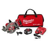 "Milwaukee 2830-21HD M18 FUEL Rear Handle 7-1/4"" Circular Saw Kit with 1x 12.0Ah Battery"