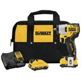 "DeWALT DCF902F2 12V MAX Brushless Cordless 3/8"" Impact Wrench 2x 2.0Ah Kit"