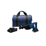 Bosch CRS180-B15 18V 1-1/8 In. D-Handle Reciprocating Saw Kit with (1) CORE18V 4.0 Ah Compact Battery
