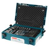 Makita B-51889 70-Piece Drill & Driver Bit Interlocking Accessory Kit